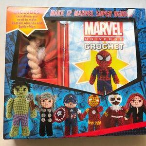 Marvel Universe Crochet- Spider Man